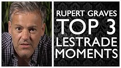 Rupert Graves's Top 3 Lestrade Moments | Sherlock | BBC