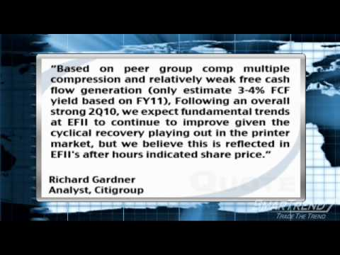 Analyst Insight: Citigroup Inc. Drops Price Target on Electronics For Imaging, Inc.