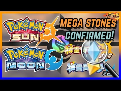 how to get a mega stone in pokemon moon