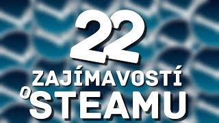 22 Zajímavostí o Steamu