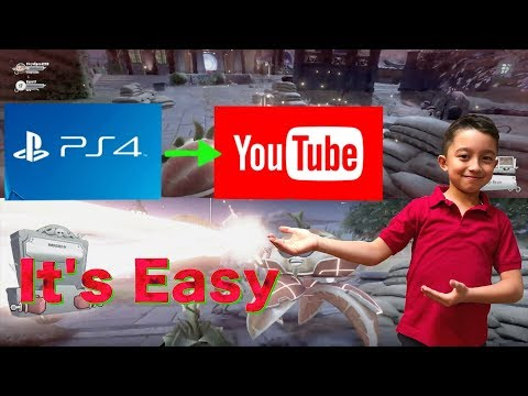 How to upload PS4 gameplay to Youtube , share Your ps4 gameplay to youtube , PS4 to Youtube , Gaming
