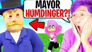 MAYOR HUMDINGER ATTACKS LANKYBOX In MINECRAFT! (PAW PATROL HELPED US?!)