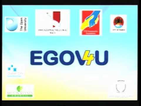 EGOV4U TV Programme 1