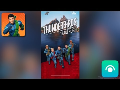 Thunderbirds Are Go: Team Rush - Gameplay Trailer (iOS, Android)