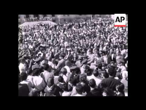 Royal Couple's Good Will Tour to Dodecannese Islands - No Sound - 1965
