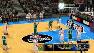 NBA 2K14 PC Gameplay (Olympiakos-Panathinaikos 73-64 )