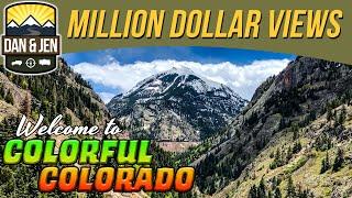 SAN JUAN SKYWAY📬Colorado Postcards - Telluride - Ouray - Silverton - Durango