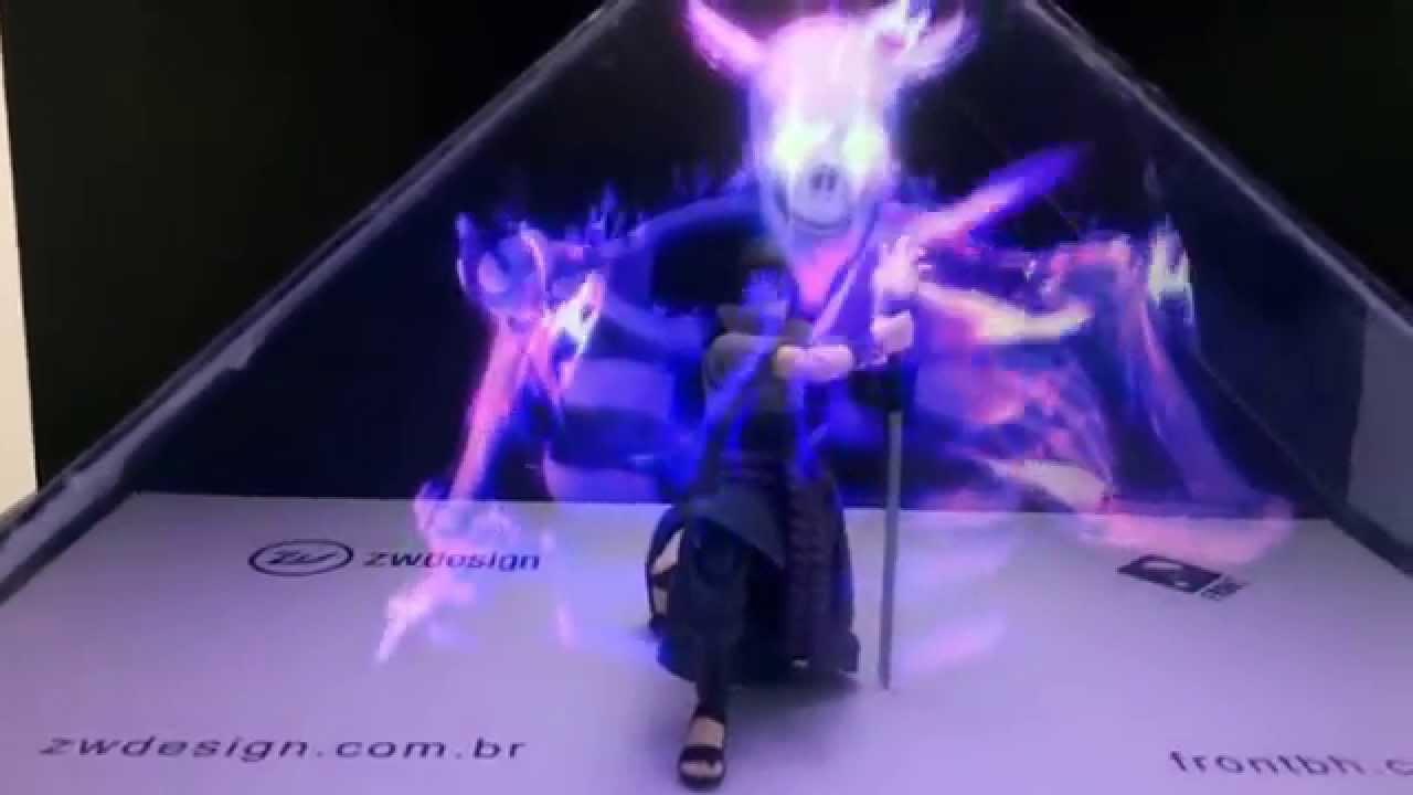 ZW Design - Holografia - Sasuke - YouTube  ZW Design - Hol...
