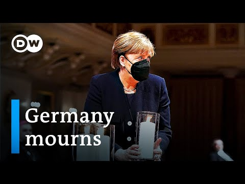 Germany mourns those lost to the coronavirus pandemic | DW News