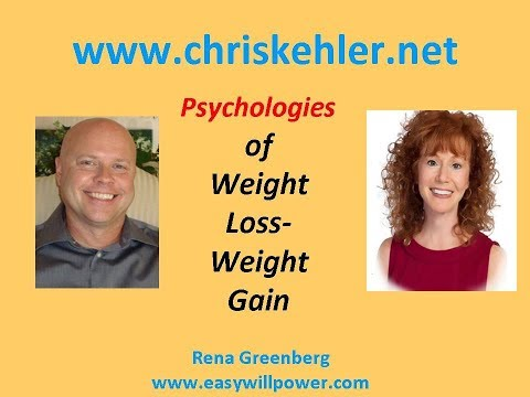 Psychologies of Weight Loss_Weight Gain