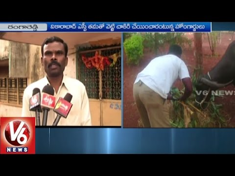Special Branch Police Investigation On Orderly Issue at Rangareddy SP Residence | V6 News