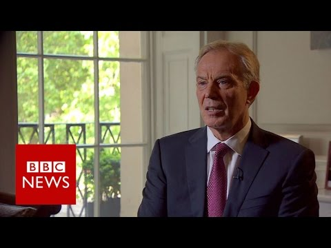 Tony Blair on Brexit - BBC News