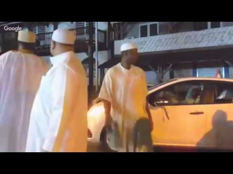 Habib Muhammad Al Qadrie & Habib Hasan Al Qadrie di Majlis Al Habib Al Mustoifa - Mayotte France