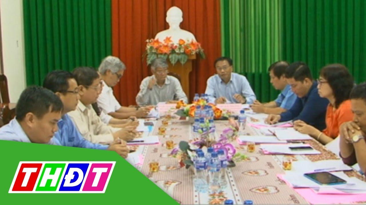UBND tỉnh Đồng Tháp làm việc với Sở Tài chính | THDT