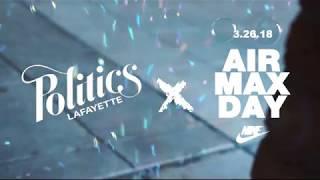 Nike Air Max Day at Sneaker Politics Lafayette, LA  2018