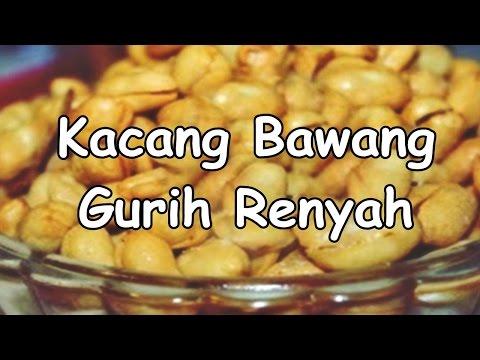 Resep Dan Cara Membuat Kacang Bawang Gurih Dan Renyah