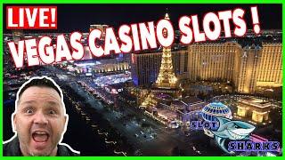🔥 LIVE 🔥 Las Vegas Casino Slots - The Slot Sharks 🦈