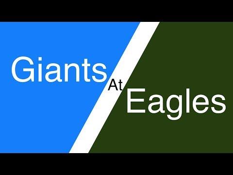 Giants at Eagles (2018) | Week 12 NFL Expert Picks & Predictions | New York NYG vs Philadelphia