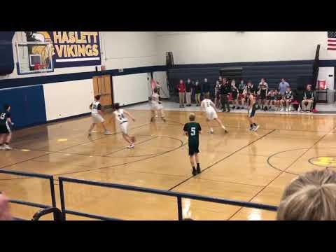 Williamston Middle School Basketball, Game Winning Shot