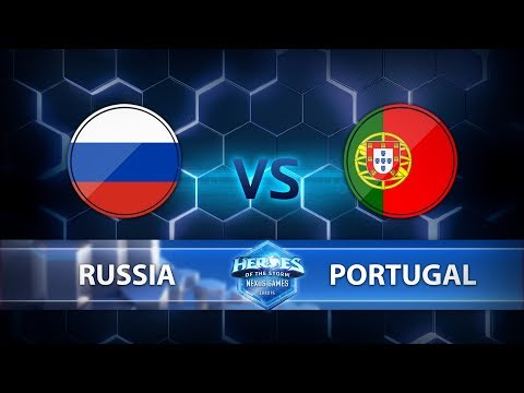 Nexus Games Europe - Group D Match 4 – Russia vs. Portugal - Game 2