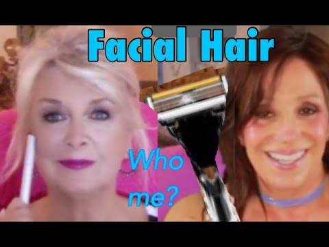 Hair Removal For The Aging Face ~ Carol & Patti Collab 💁