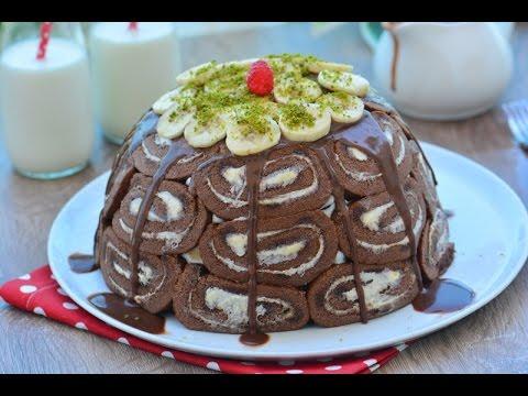 Muzlu  Kolay  Kubbe  Pasta  Tarifi ( Çok  pratik ve nefis)