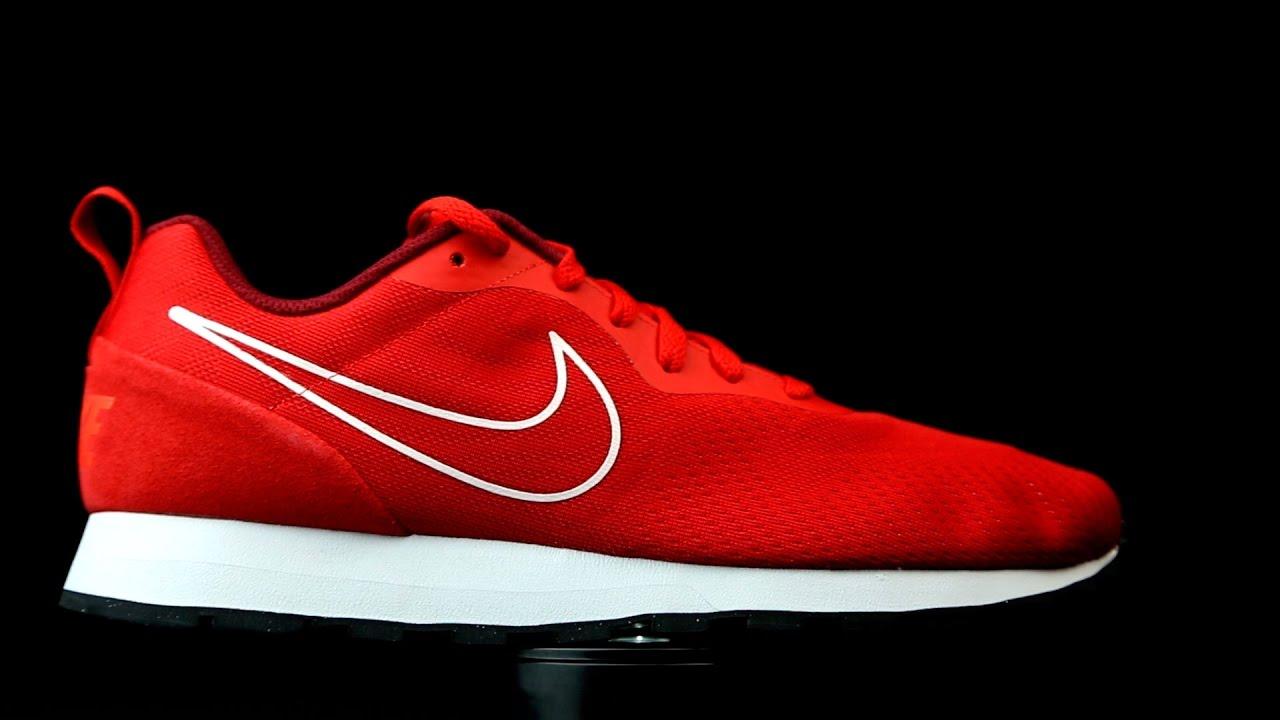 nosotros Registrarse Extraer  Nike MD Runner 2 rojo. - YouTube