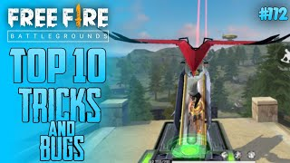 Top 10 New Tricks In Free Fire | New Bug/Glitches In Garena Free Fire #112