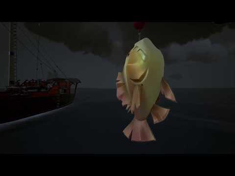 Sea Of Thieves: Catching A Forsaken Devilfish Trophy Version. (Rarest Devilfish, Grubs Required)