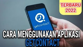 CARA MUDAH MENGGUNAKAN APLIKASI GETCONTACT | TERBARU 2021 screenshot 5