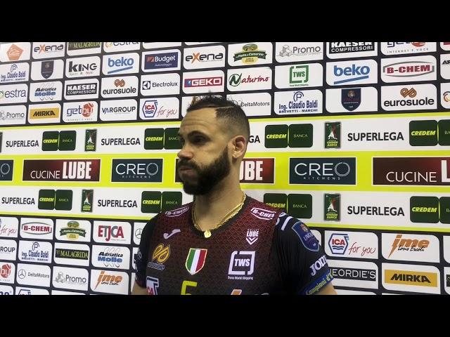 Juantorena, Balaso e De Giorgi dopo il 3-2 su Trento