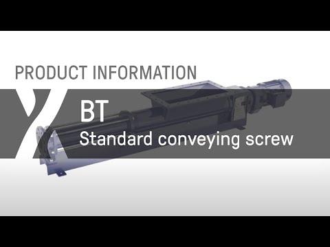 Trichterpumpe: BT - Standard-Förderschneckenversion