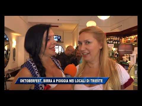 16/09/2017 - OKTOBERFEST, BIRRA A PIOGGIA NEI LOCALI DI TRIESTE