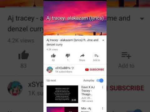 Aj Tracey alakazam