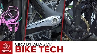 Bike Tech At The 2017 Giro d'Italia