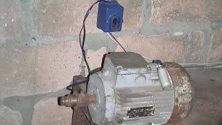 видео Конденсаторы для запуска электродвигателя
