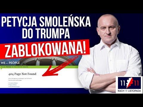 Petycja smoleńska do Trumpa ZABLOKOWANA! Kowalski & Chojecki NA ŻYWO w IPP TV 24042018