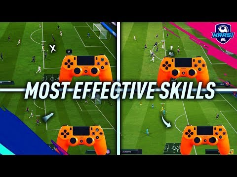 FIFA 19 MOST EFFECTIVE SKILLS TUTORIAL - BEST MOVES TO USE IN FIFA 19 - BECOME A DIVISION 1 PLAYER