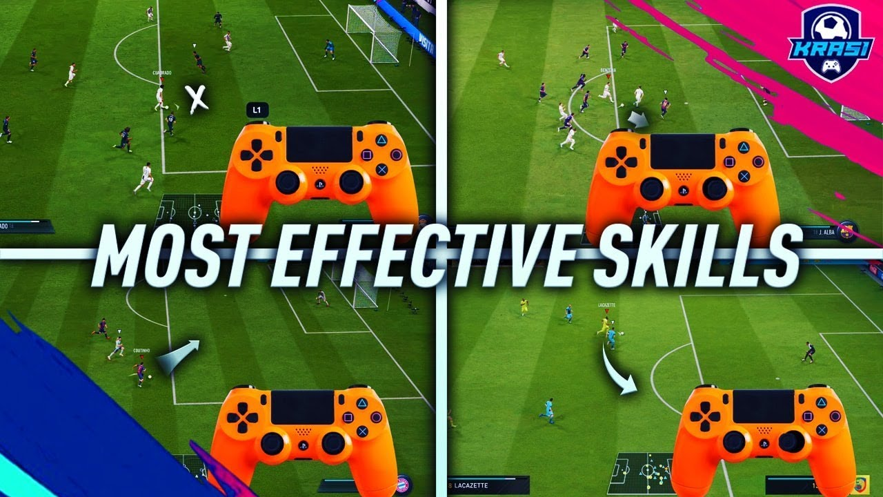 FIFA 19 MOST EFFECTIVE SKILLS TUTORIAL - BEST MOVES TO USE IN FIFA 19 - MAKE EASY COINS