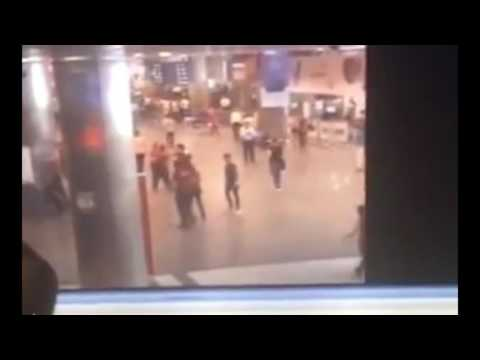 cctv footage appears to show moment bomb goes at istanbul