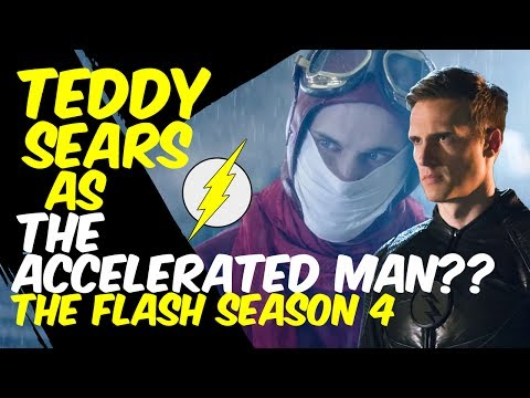 Teddy Sears The Accelerated Man?? THEORY!  The Flash Season 4  Lets Talk!