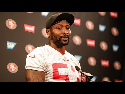 NaVorro Bowman: 'You See A Leader in Elvis Dumervil'