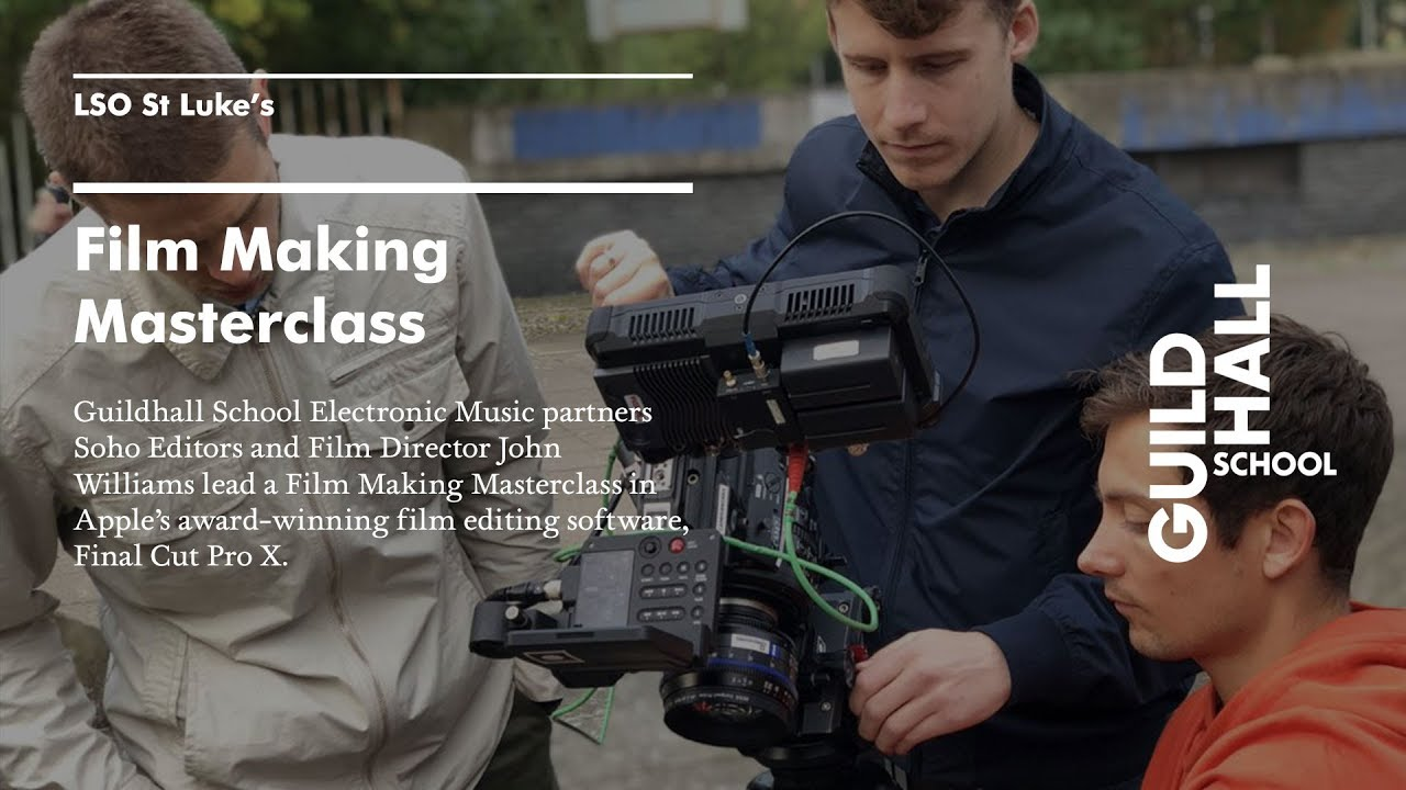 3 lessons from a FCPX FILM MAKING MASTERCLASS — PARTNERS IN POST