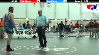 Willie Bivens vs. Drew Phipps at 2013 FILA Cadet Nationals - FS