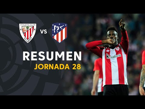 Resumen de Athletic Club vs Atlético de Madrid (2-0)