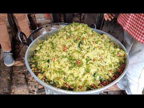 Famous Chana Poha of Nagpur | Morning Breakfast | Indian Street Food