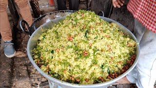 Famous Chana Poha of Nagpur | Morning Breakfast | Indian Street Food