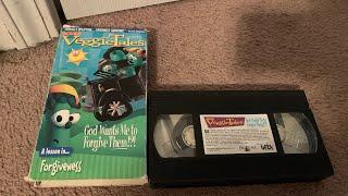 Öffnung zum Vorhören VeggieTales: Gott Will Mich, Ihnen Zu Vergeben!?! 2000 VHS
