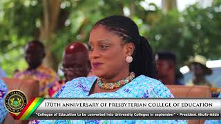 170th Anniversary of Presbyterian College of Education