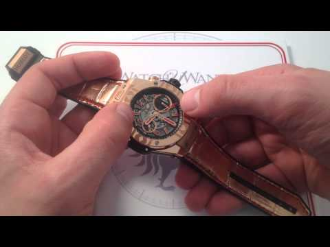 Hublot Big Bang Unico World Poker Tour King Gold Luxury Watch Review from YouTube · High Definition · Duration:  11 minutes 18 seconds  · 3 000+ views · uploaded on 14/06/2015 · uploaded by WatchBox Studios